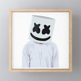 Marshmello Framed Mini Art Print