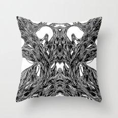 Subconscious Throne of Death  Throw Pillow