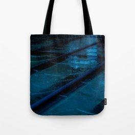 Blue Glass Waterfall Tote Bag