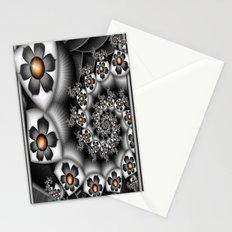 Orange Fan. Stationery Cards