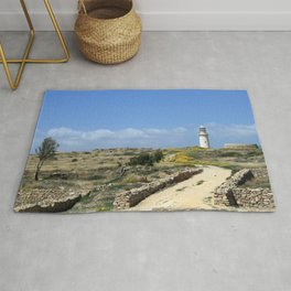 Lighthouse in Paphos Rug