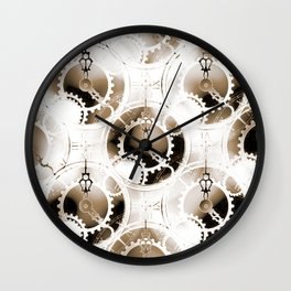 Time For Peace 3 Wall Clock