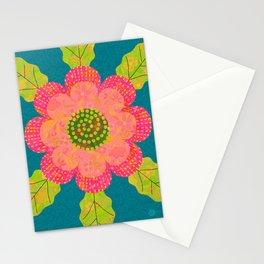 Pretty Pink Petunia Stationery Cards