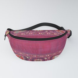 Shakhrisyabz  Antique South West Uzbekistan Suzani Embroidery Fanny Pack