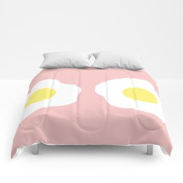 Eggy boobs Comforters