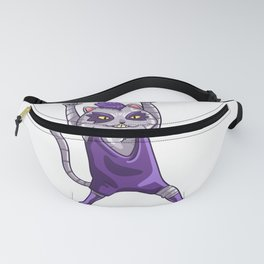 Heavy Metals Cat Rocking Band Concert Gift Kitty Fanny Pack