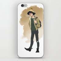 grantaire iPhone & iPod Skins featuring Grantaire  by icarusdrunk