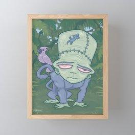 Frunkee Framed Mini Art Print