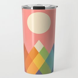 Rainbow Peak Travel Mug