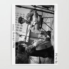 Birds in the Boneyard, Print 4: Mikey & Petey in the Studio Poster