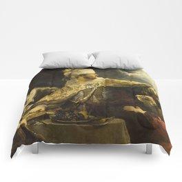 """Rembrandt Harmenszoon van Rijn, """"Belshassar's Feast"""", 1636-8 Comforters"""
