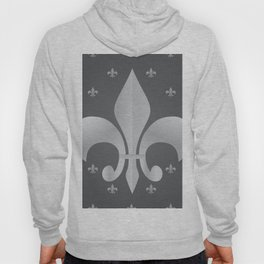 Royal French Lily. Pattern. Hoody