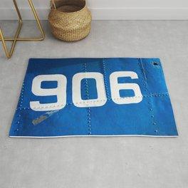 906 blue Rug