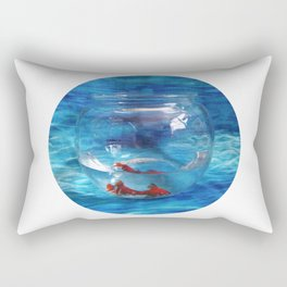 Fish in the Tank Rectangular Pillow