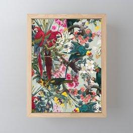FLORAL AND BIRDS XXII Framed Mini Art Print