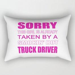 Taken By A Truck Driver Rectangular Pillow