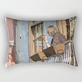 Las Palmas Balcony Rectangular Pillow
