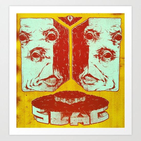 Slag Box 2 Art Print