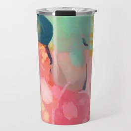 spring moon earth garden Travel Mug