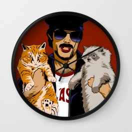 Furry Bitches Wall Clock