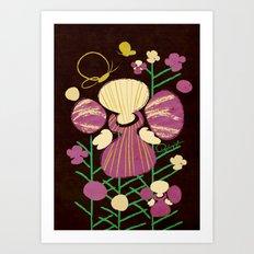 Floral Flower Artprint Art Print