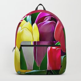 Tulips From Amsterdam Backpack
