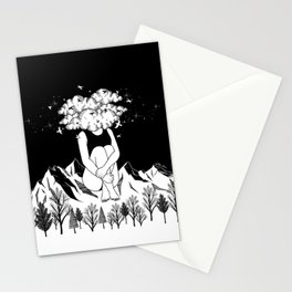Across The Universe Stationery Cards