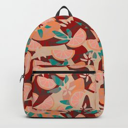 Mid Century Summer Holiday Backpack