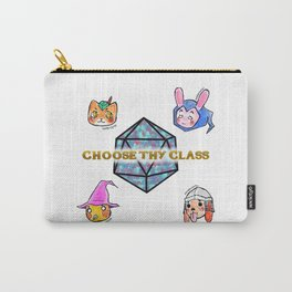 Fantasy Role-Playing Game RPG Kawaii Animals Carry-All Pouch