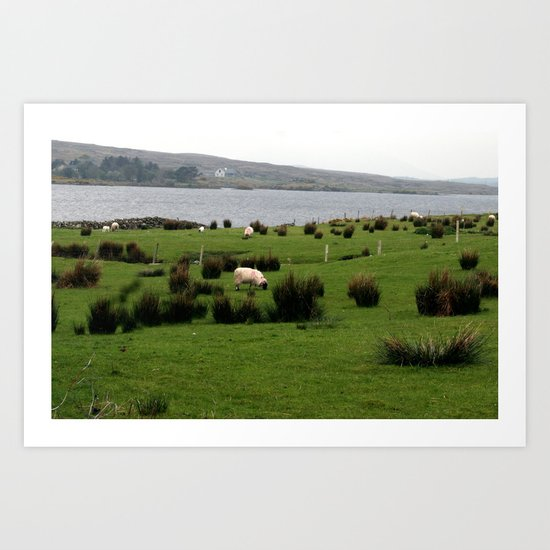 Pastoral Ireland Art Print