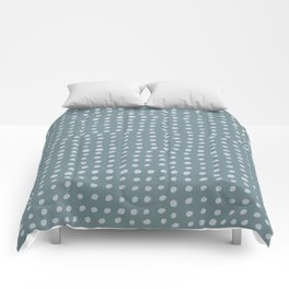 Slate x Dots Comforters