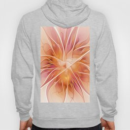 Floral Impression, Abstract Fractal Art Hoody
