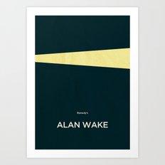 Remedy's Alan Wake Art Print
