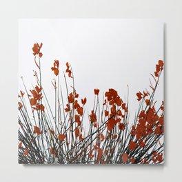 Minimal Garden Fall Scene #decor #society6 #buyart Metal Print