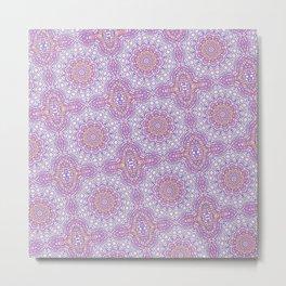 'Dala Pattern Experiment Metal Print
