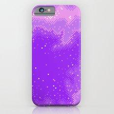 Purple Nebula (8bit) Slim Case iPhone 6s