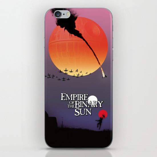 Empire of the Binary Sun iPhone & iPod Skin