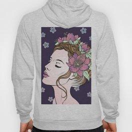 Flower Crown Girl Hoody
