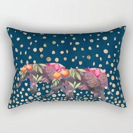 Night Walk 1 Rectangular Pillow