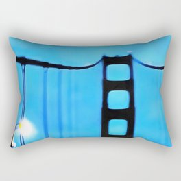 Across The Bridge Rectangular Pillow