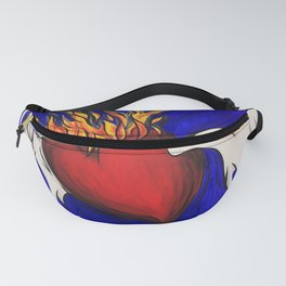 Flying Heart Fanny Pack