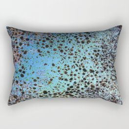 Branches And Marble Rectangular Pillow