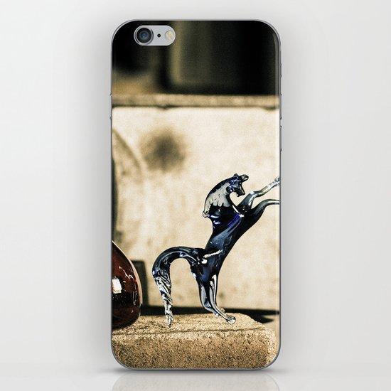 Horse of Glass, Italy iPhone & iPod Skin