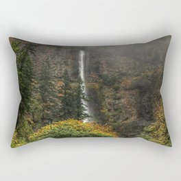 Multnomah Falls Oregon Rectangular Pillow