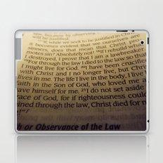 Through the Law. Laptop & iPad Skin