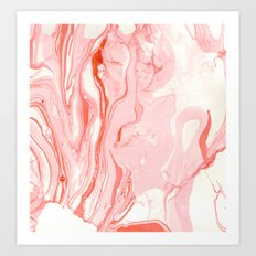 Ate icecream in a desert dream  Art Print