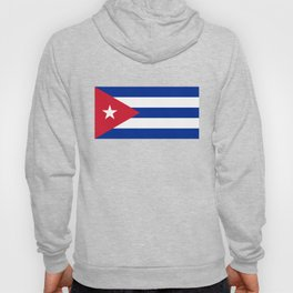 Flag of Cuba - Authentic version (High Quality Image) Hoody