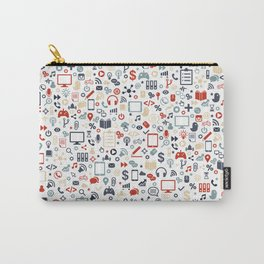 Icon pattern Carry-All Pouch