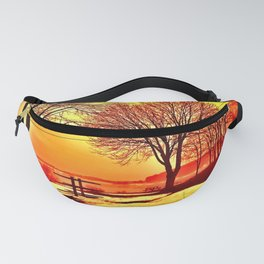Autumn Lake Fanny Pack