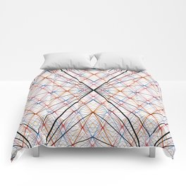 GS Geometric Abstrac 07A S6 Comforters